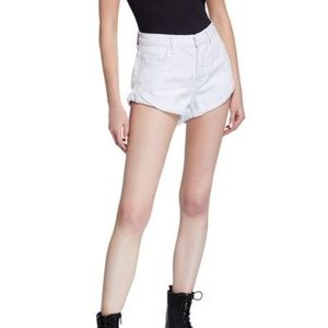 One Teaspoon Shorts - NWT One Teaspoon White Denim Shorts